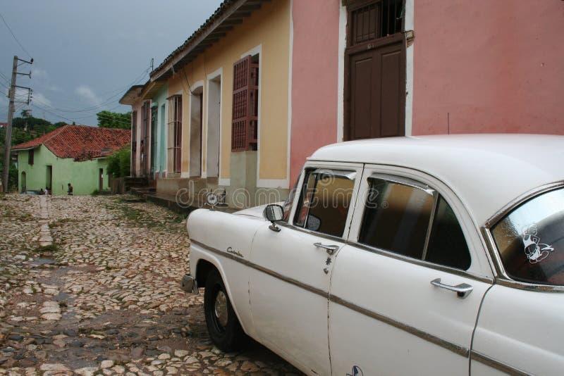 古巴生活街道 库存照片