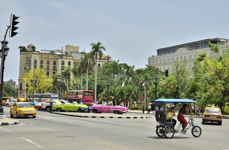 古巴街道XXI 库存图片