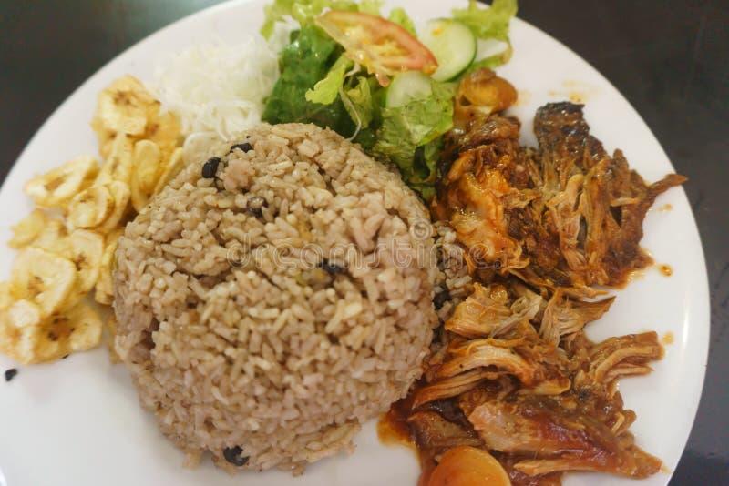 古巴食物 库存图片