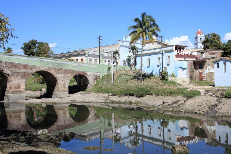古巴sancti spiritus 库存照片
