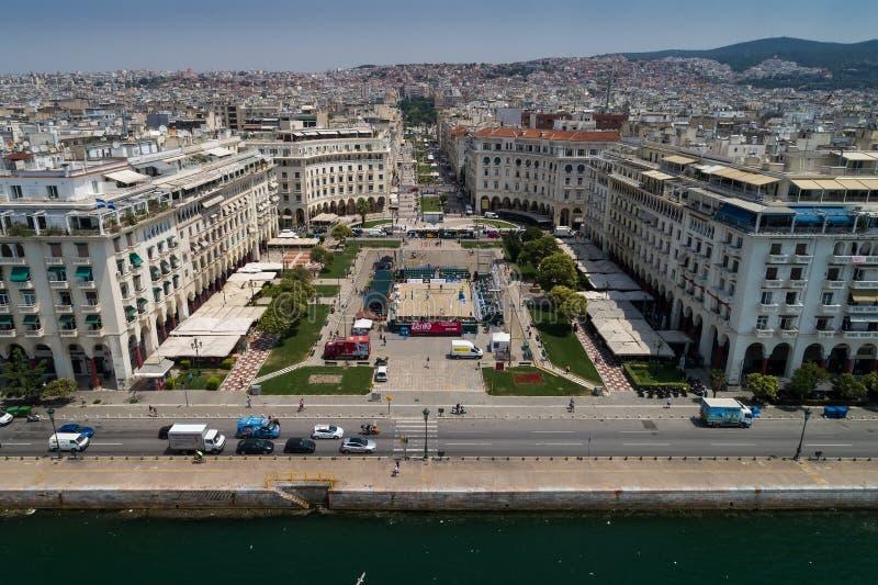 古希腊冠军海滩齐射掌握2018年 免版税库存照片