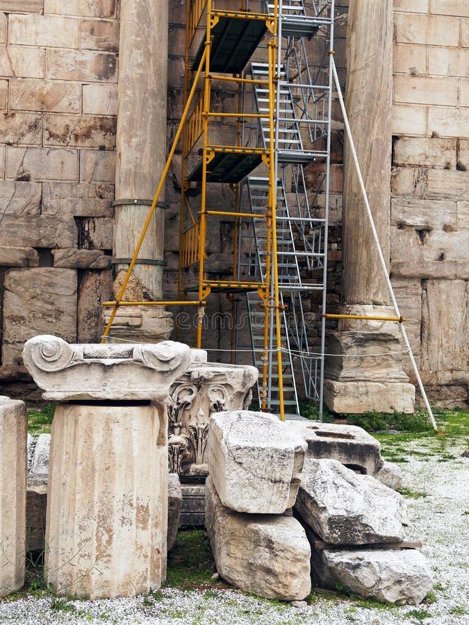 古希腊恢复 免版税库存图片