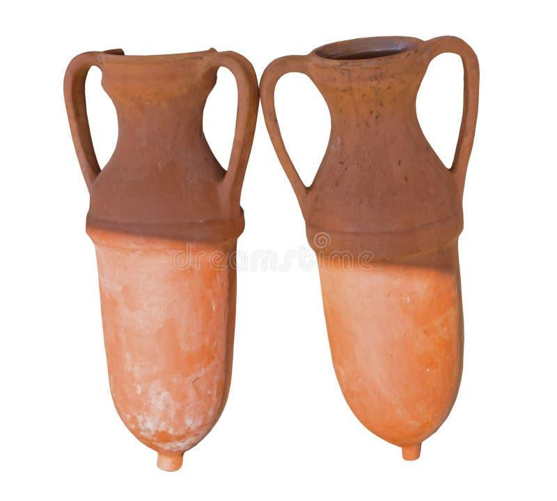 古希腊油罐 图库摄影