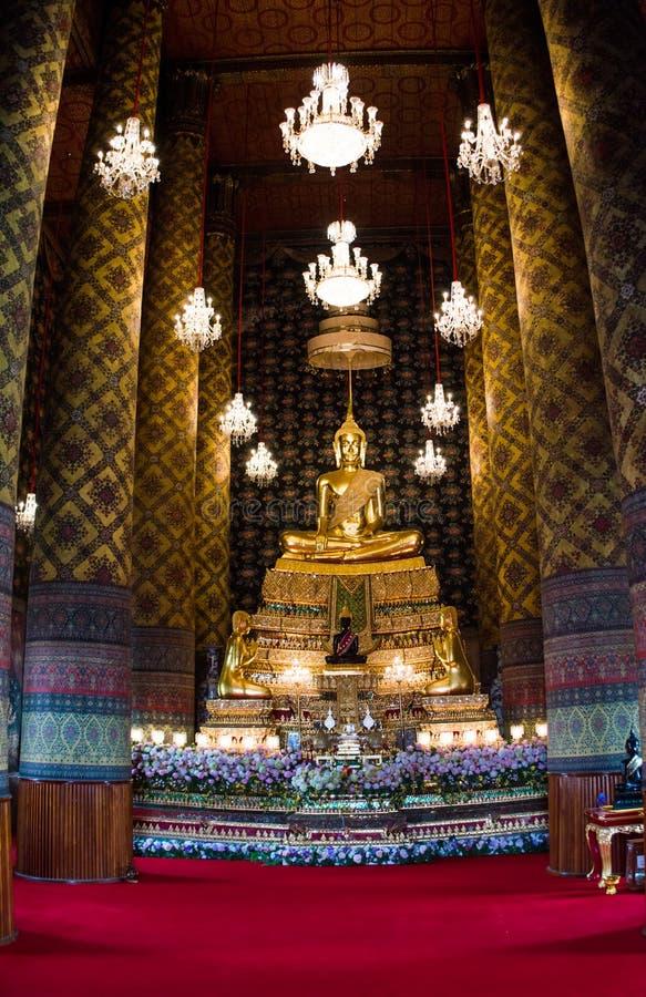 古庙在曼谷,泰国 库存照片