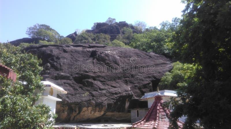 古庙在Polonnaruwa斯里兰卡 库存照片