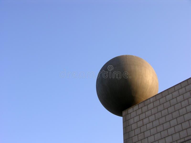 古怪巴塞罗那的大厦 库存照片
