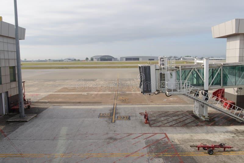 古晋国际机场 免版税库存照片