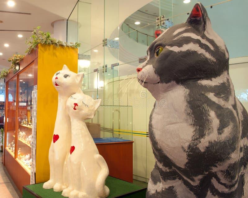 古晋猫博物馆 库存照片