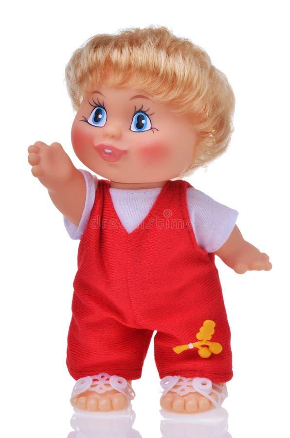 古板的娃娃 免版税库存照片