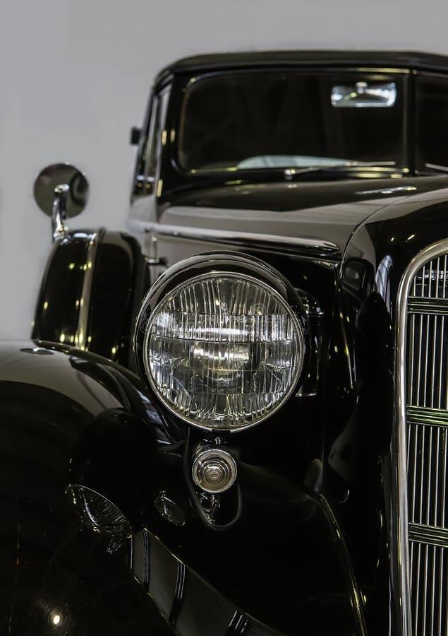 古板的汽车特写镜头 图库摄影