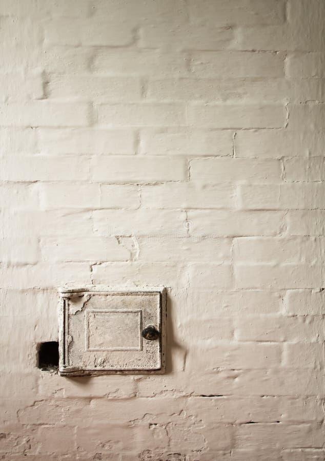 古板的火炉 免版税库存照片