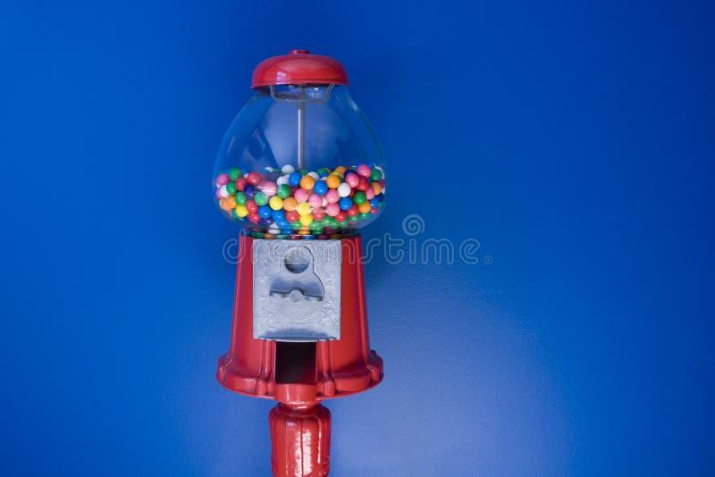 古板的Gumball机器 免版税库存照片