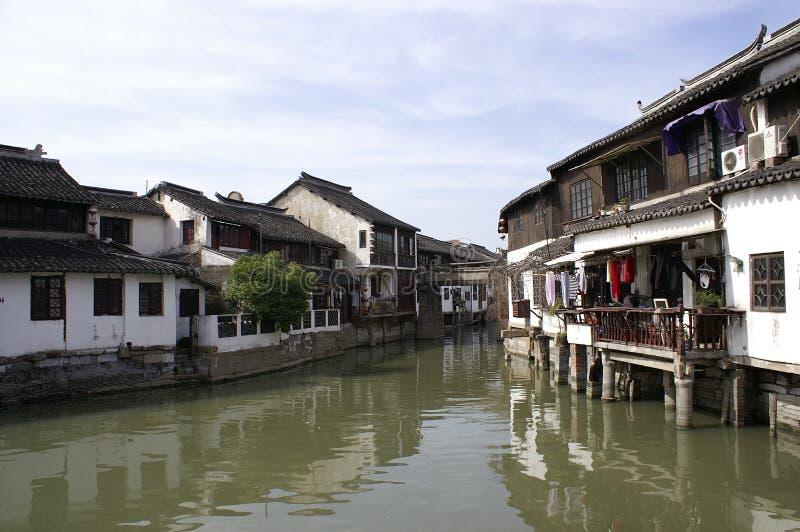 古老东部城镇 免版税图库摄影