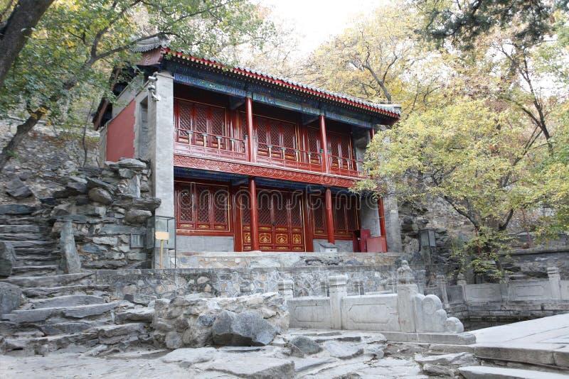 古老中国庭院 库存图片