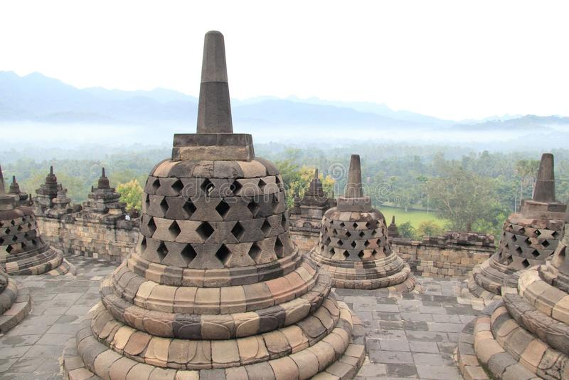 古老佛教寺庙 免版税库存图片