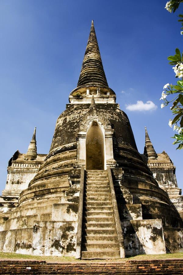 古老入口寺庙泰国 库存图片