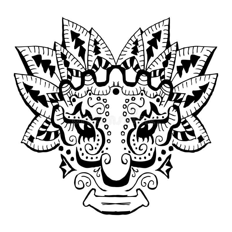古老印加人装饰品 皇族释放例证