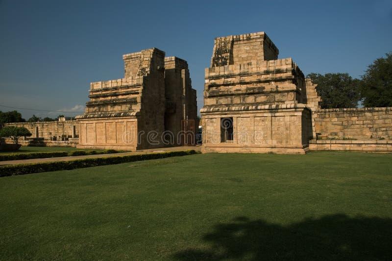 古老印度印度寺庙 免版税图库摄影