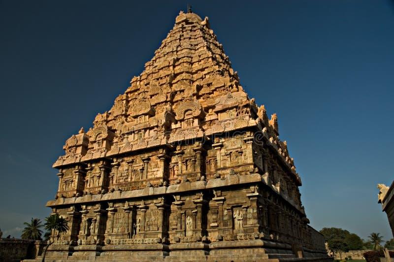 古老印度印度寺庙 免版税库存照片