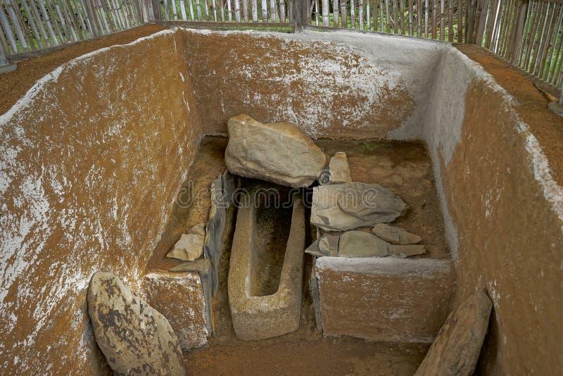 古老坟墓在哥伦比亚 免版税库存图片
