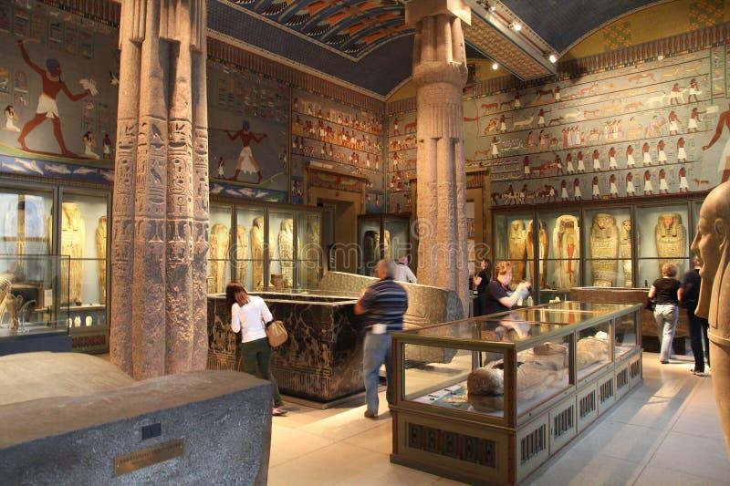 古老埃及博物馆维也纳 库存图片