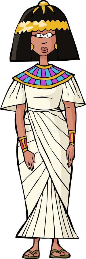 古老埃及妇女 皇族释放例证