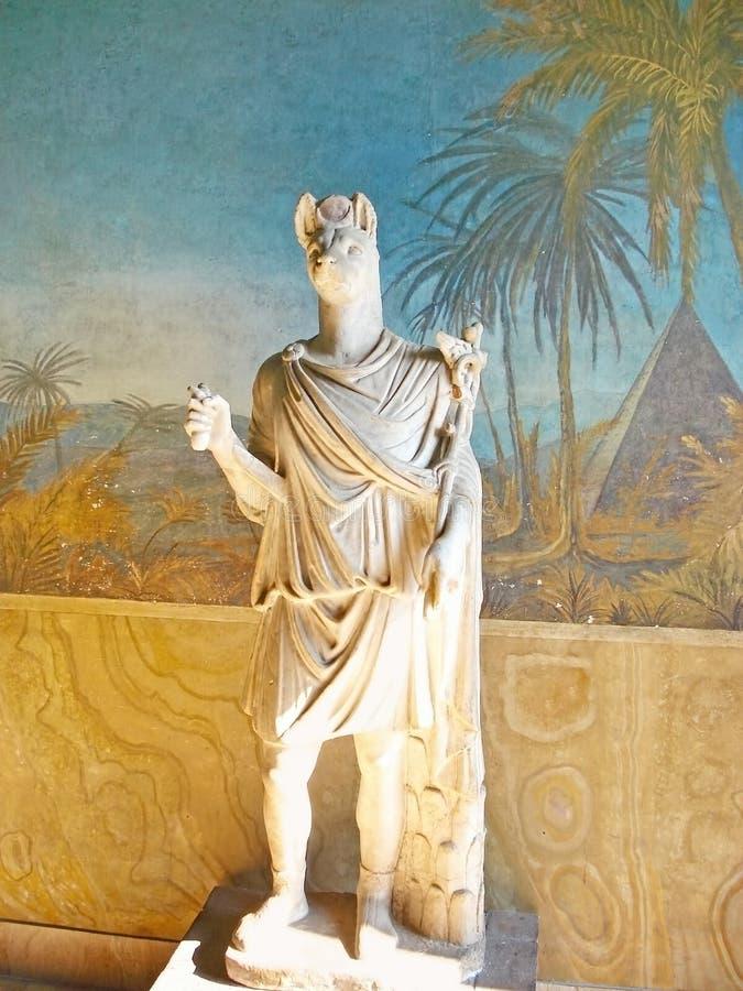 古老埃及雕塑 免版税图库摄影