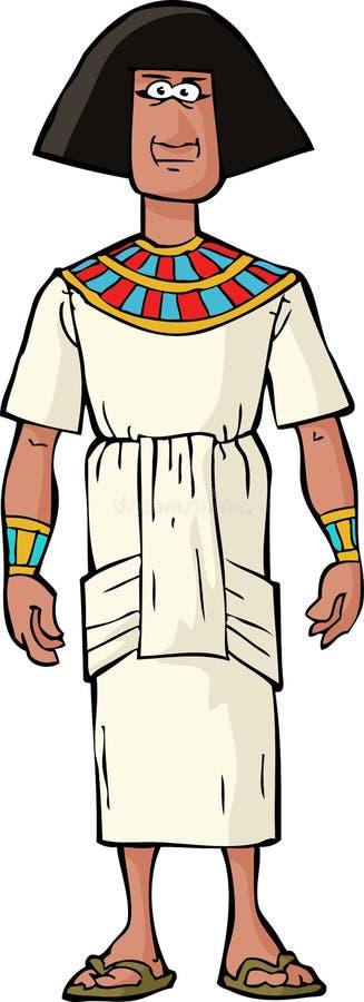古老埃及贵族 库存例证
