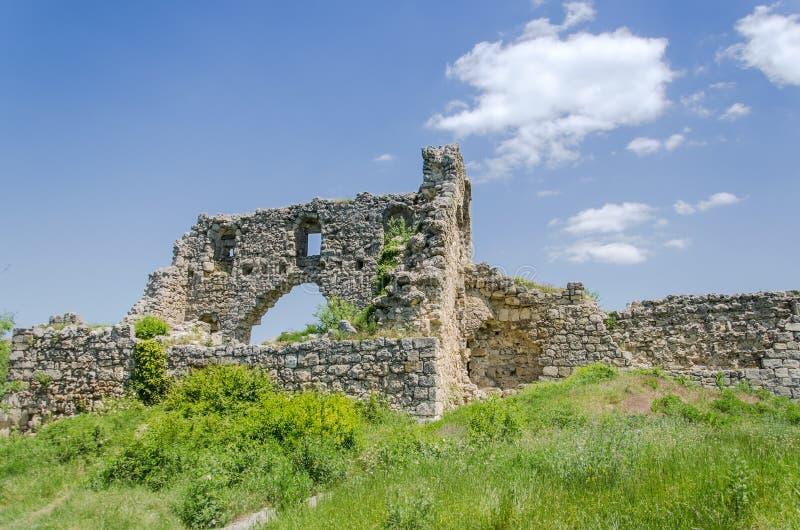 古老城堡废墟 库存照片
