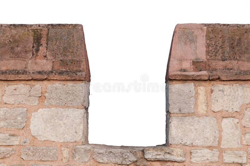 无缝的城市墙壁 库存照片