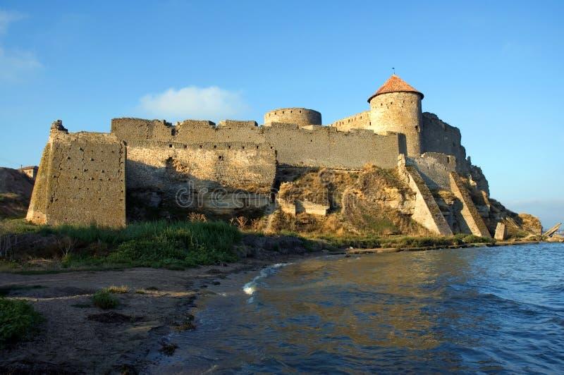 古老堡垒Akkerman,别尔哥罗德州Dnestrovsky,乌克兰 库存照片