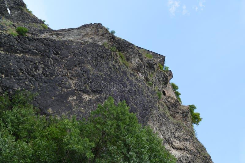 古老堡垒Strekov 库存图片