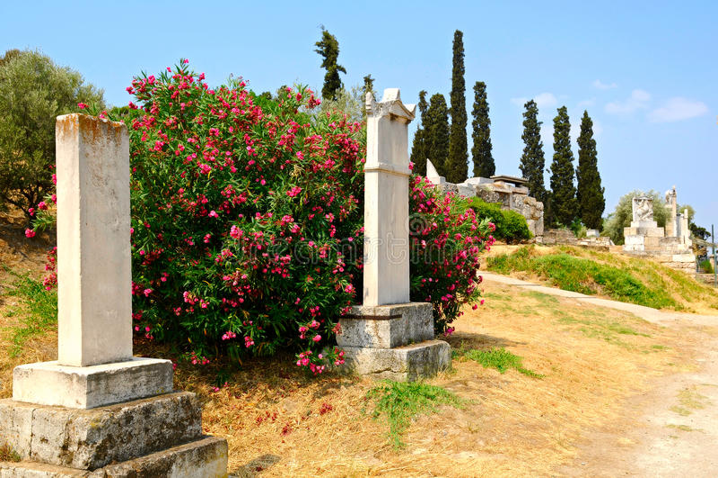 古老墓地 免版税库存图片