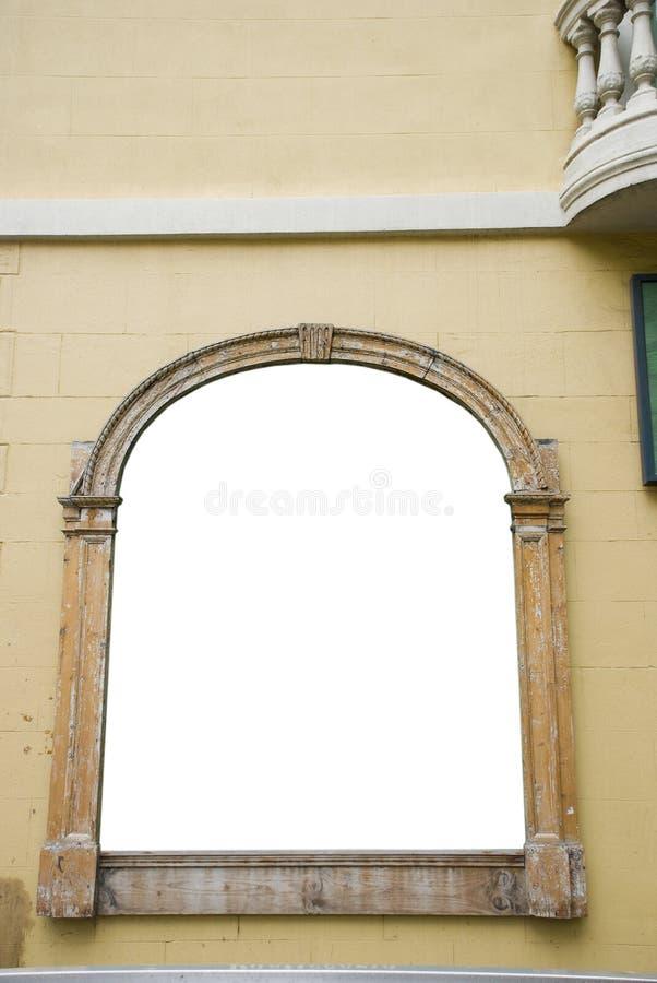 古老墙壁 库存照片
