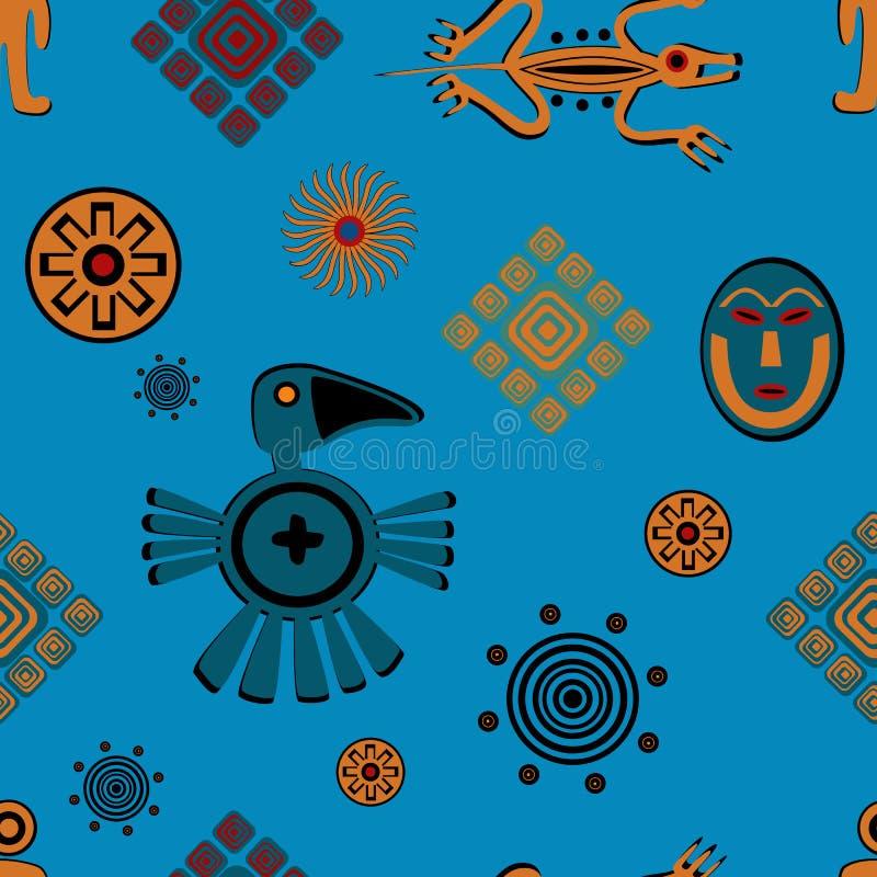 古老墨西哥样式样式 图库摄影
