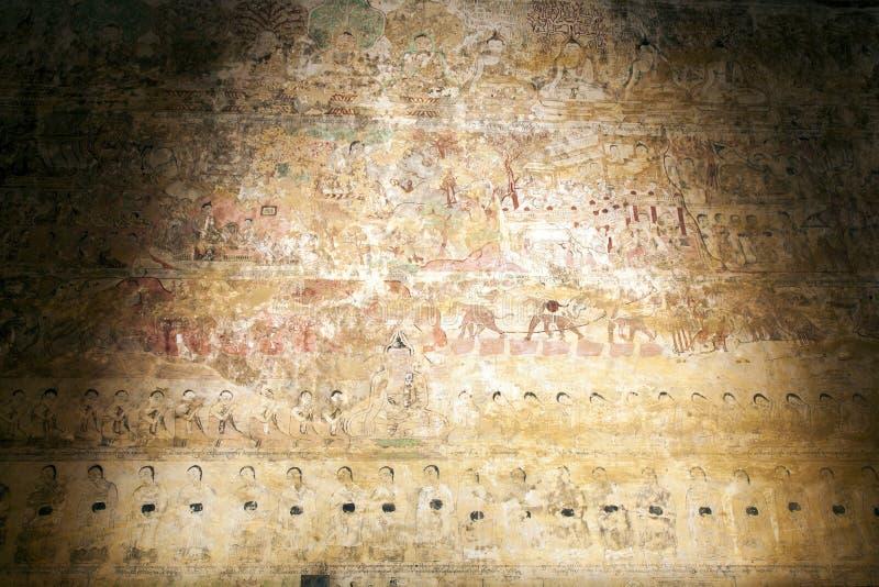 古老壁画 免版税图库摄影