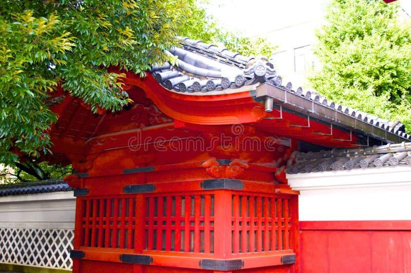 古老大厦在东京大学 免版税图库摄影