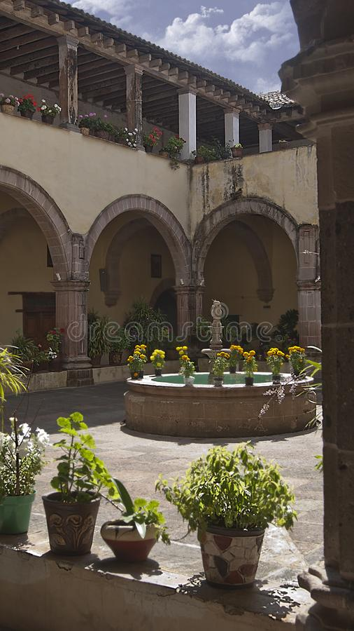 古老女修道院 库存照片
