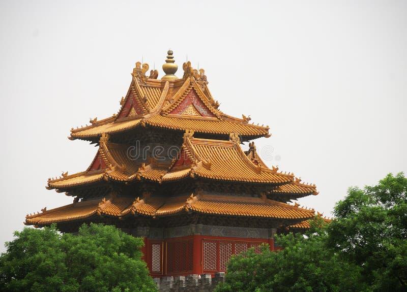 古老寺庙 免版税库存照片