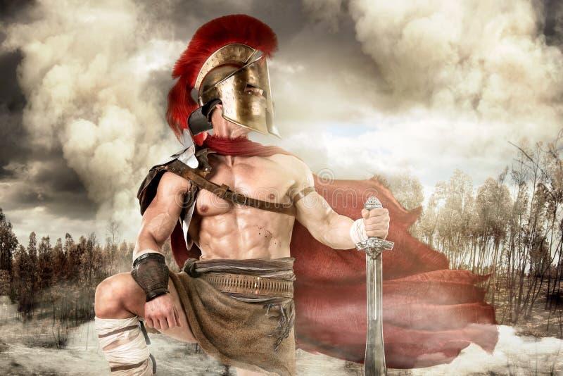古老战士或争论者 图库摄影