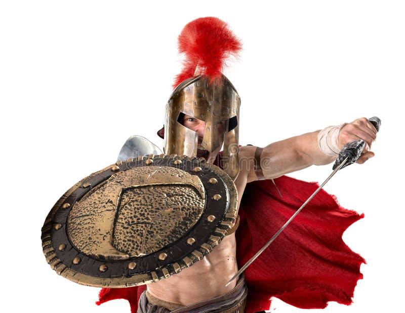 古老战士或争论者 免版税图库摄影
