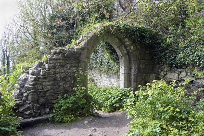 古老曲拱英国 图库摄影