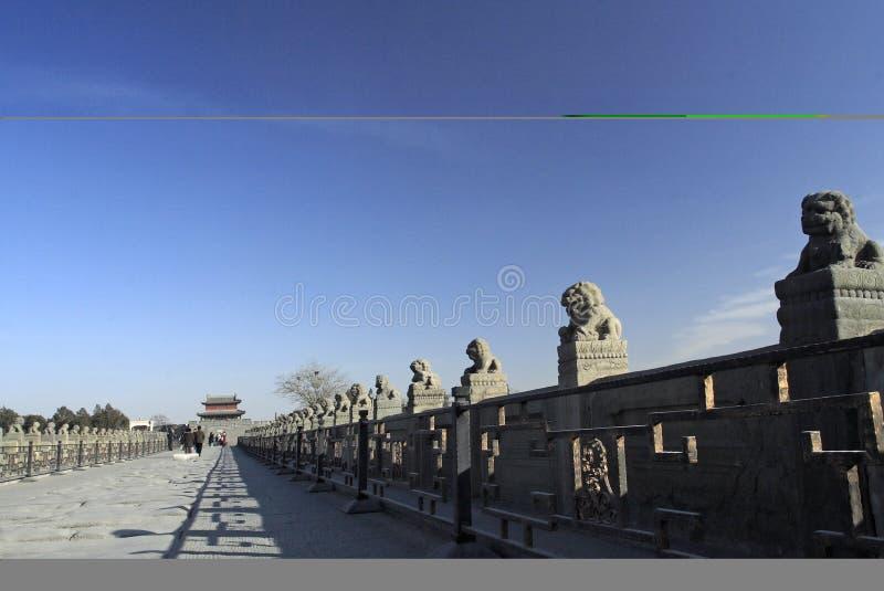 古老桥梁瓷 库存图片