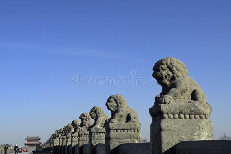 古老桥梁瓷 免版税库存图片