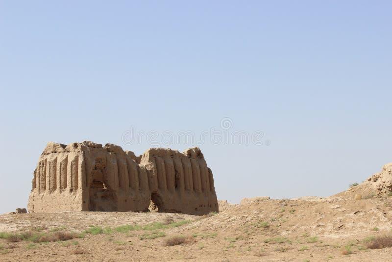 古老梅尔夫& x28废墟; Turkmenistan& x29; 库存图片
