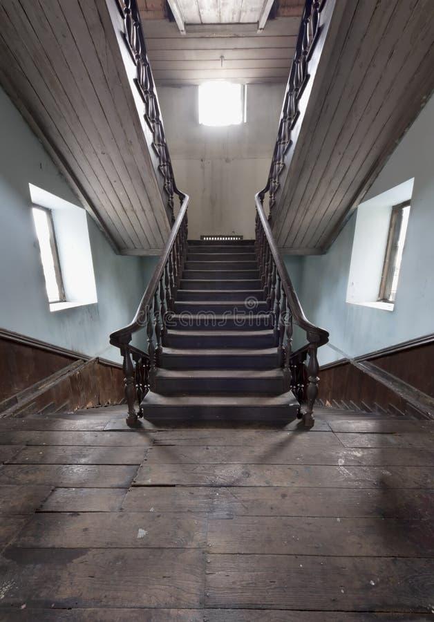 古老殖民地台阶样式 免版税图库摄影