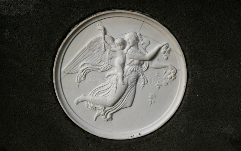 古老比喻雕塑 库存照片