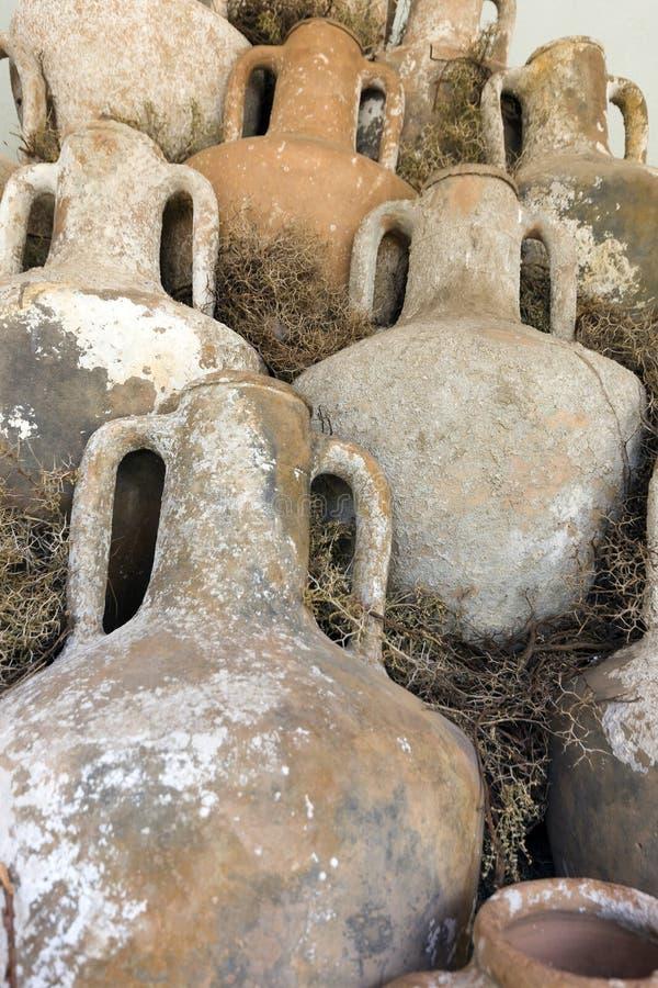 古老油罐 免版税库存图片