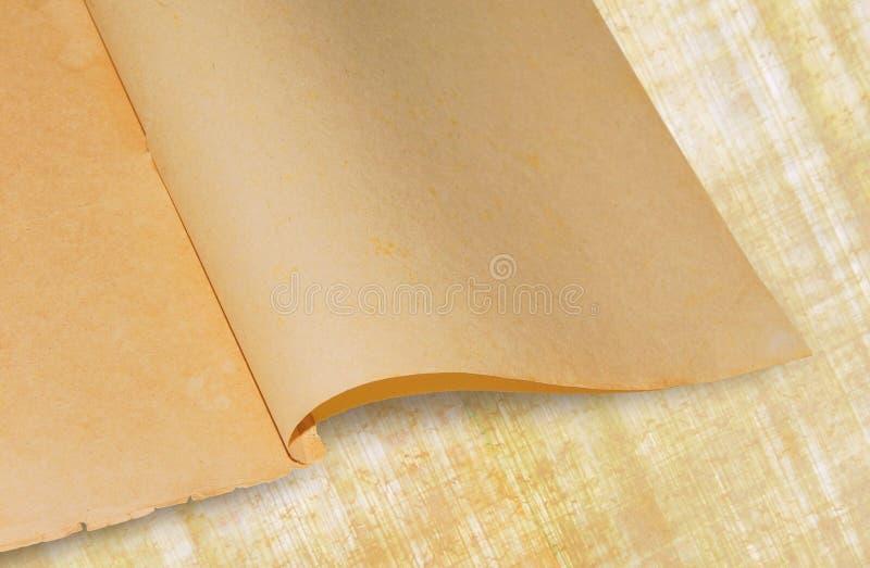 古老白纸 免版税库存图片