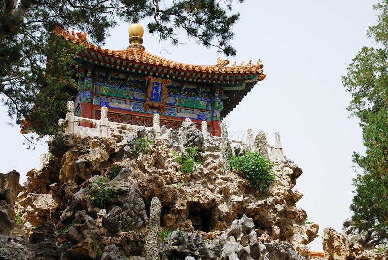 古老皇帝寺庙 库存照片
